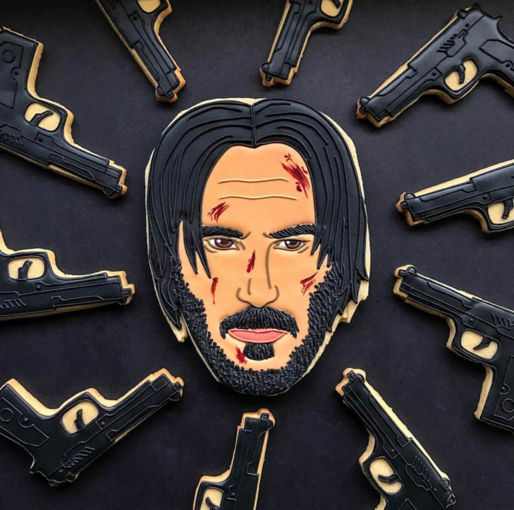 John Wick Face Biscuit insta photo