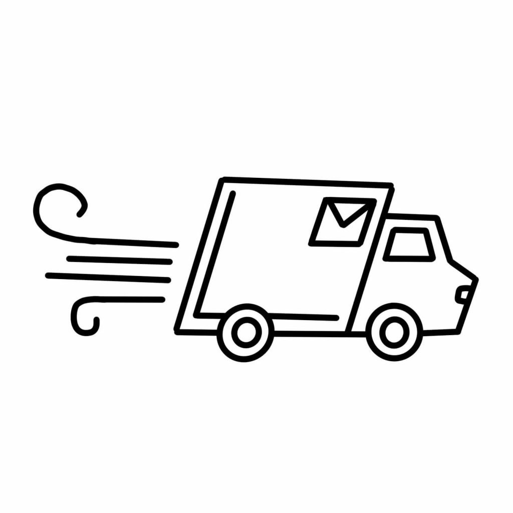 Delivery Truck Icon The Confectionist