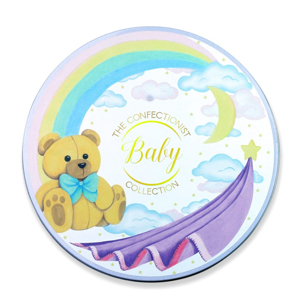 New Baby Biscuit Collection Tin Lid