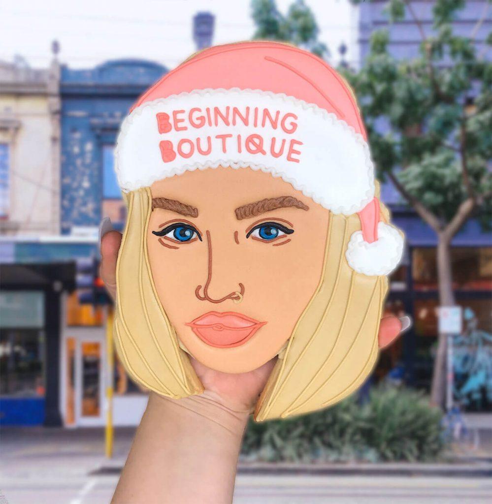 beggining boutique face biscuit custom