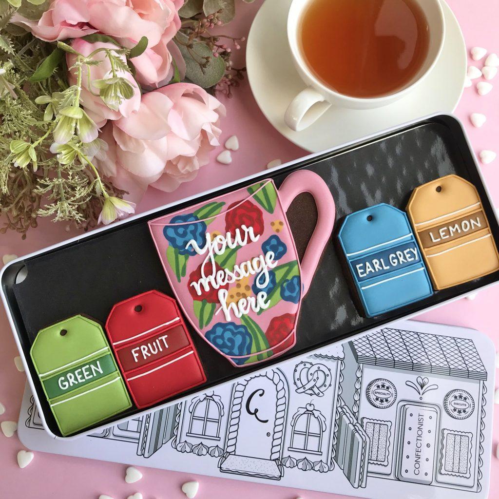tea set your message