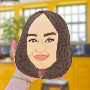Liv Face Biscuit