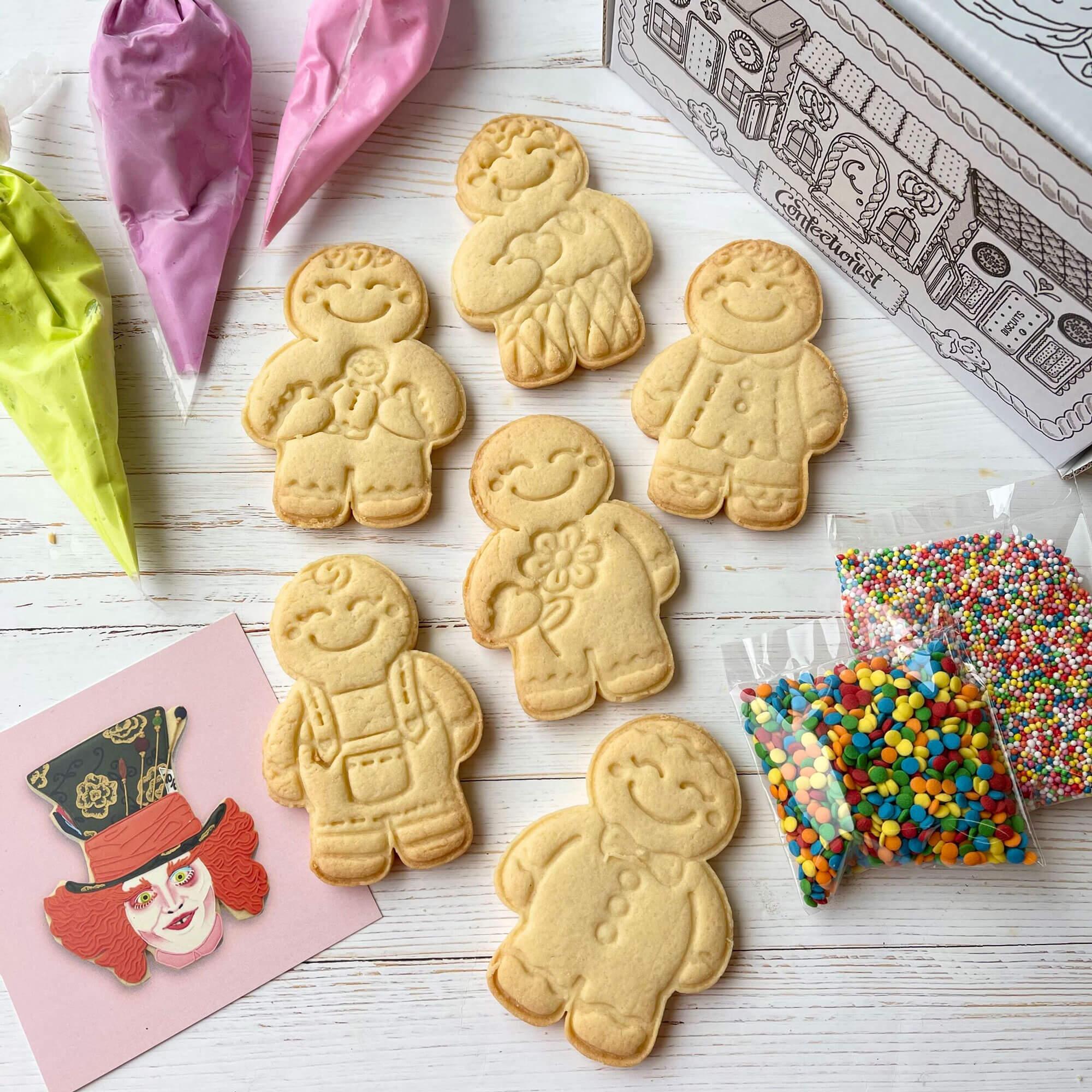 DIY Gingerbread man Decorating Kit